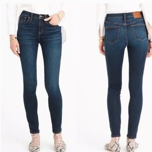 J Crew Lookout High Rise Ankle Skinny Jeans
